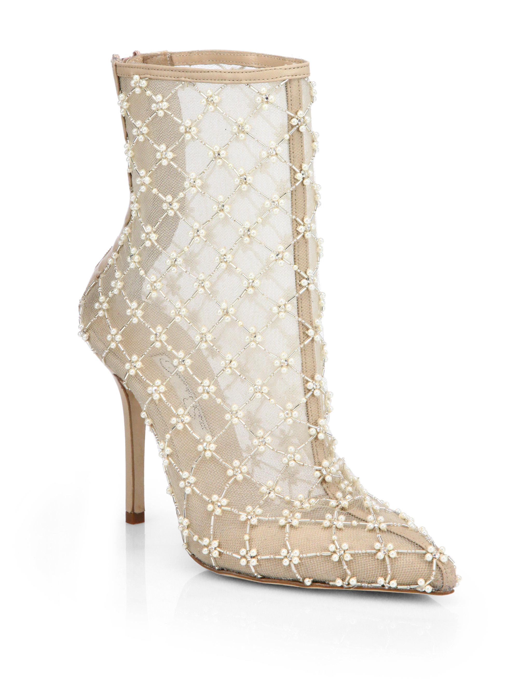 Beaded Boots for Women