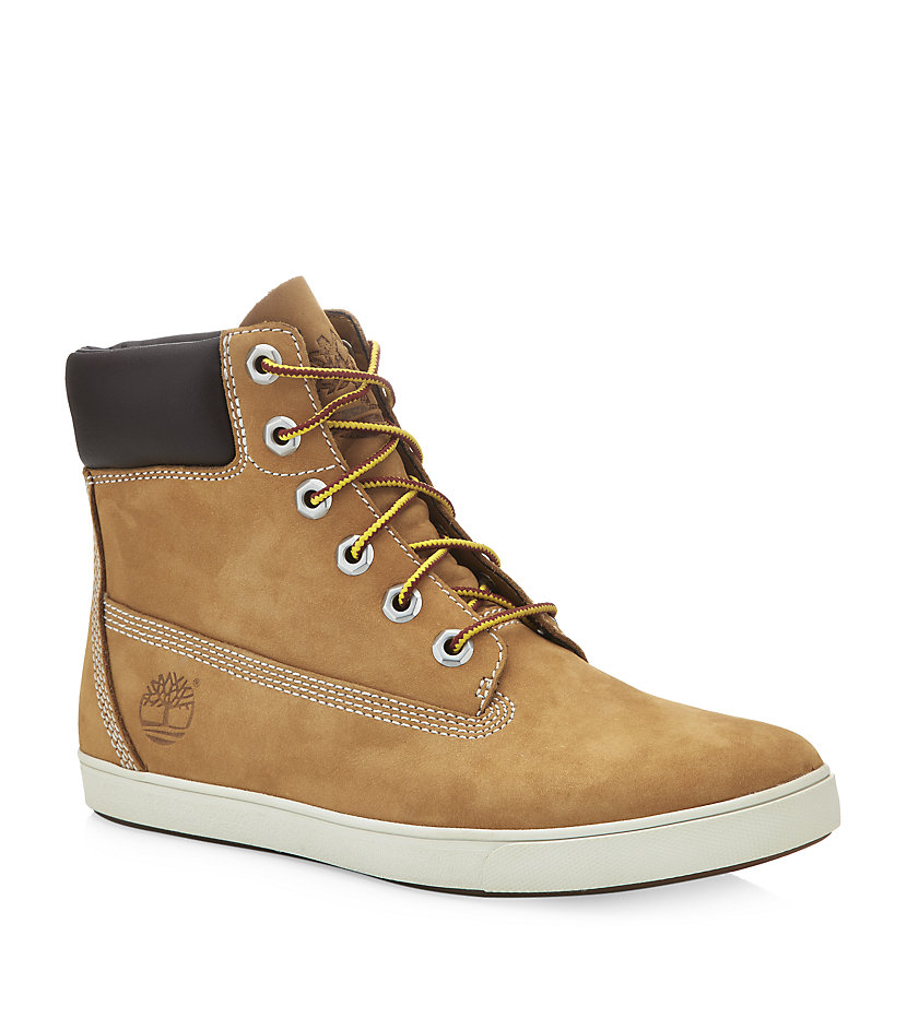 7bc889f63eaa Timberland Deering 6 Flat Boot in Brown - Lyst