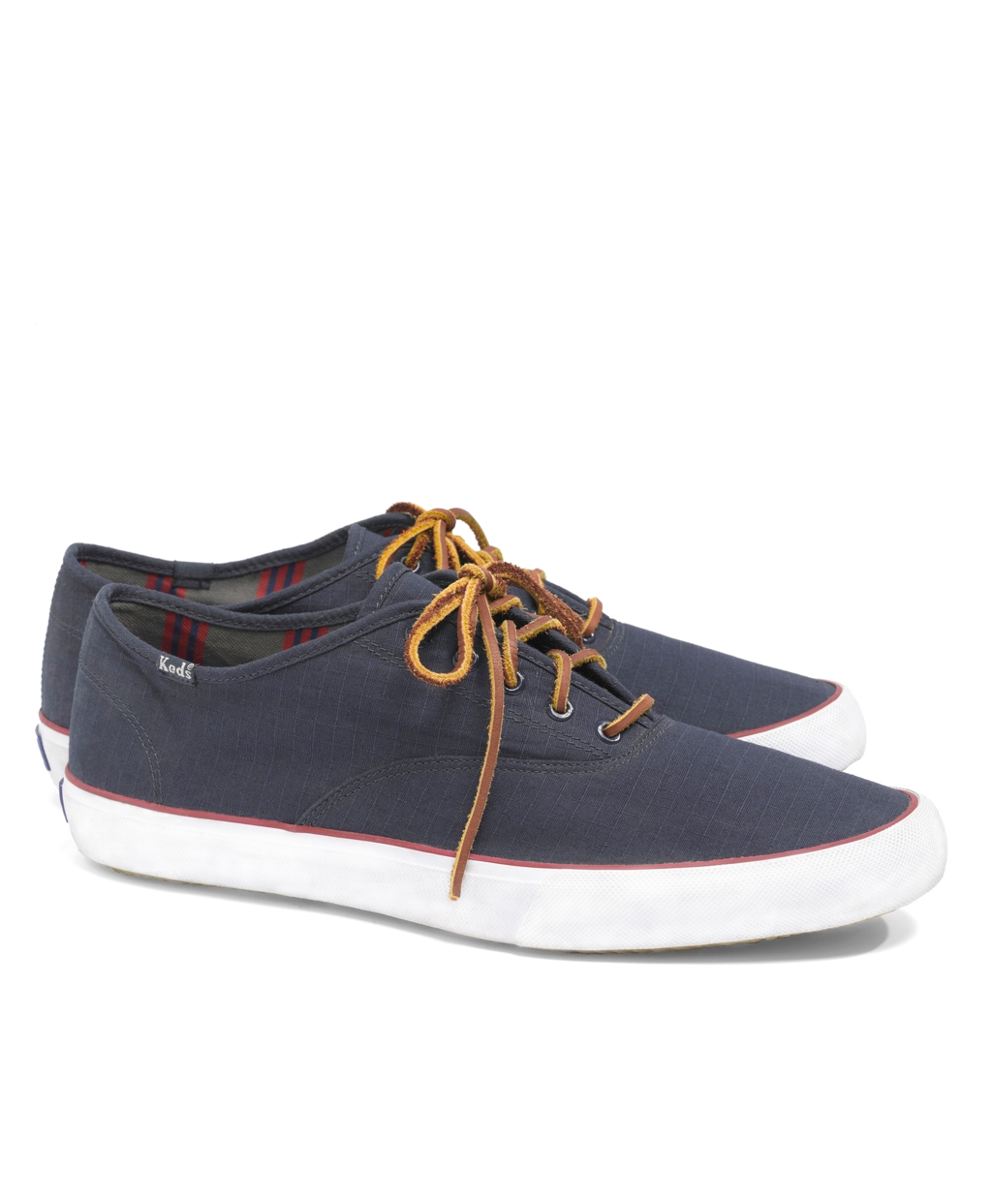 4f9daae9815 Lyst - Brooks Brothers Keds For Brooks Brothers Ripstop Laceup Sneakers in  Blue for Men