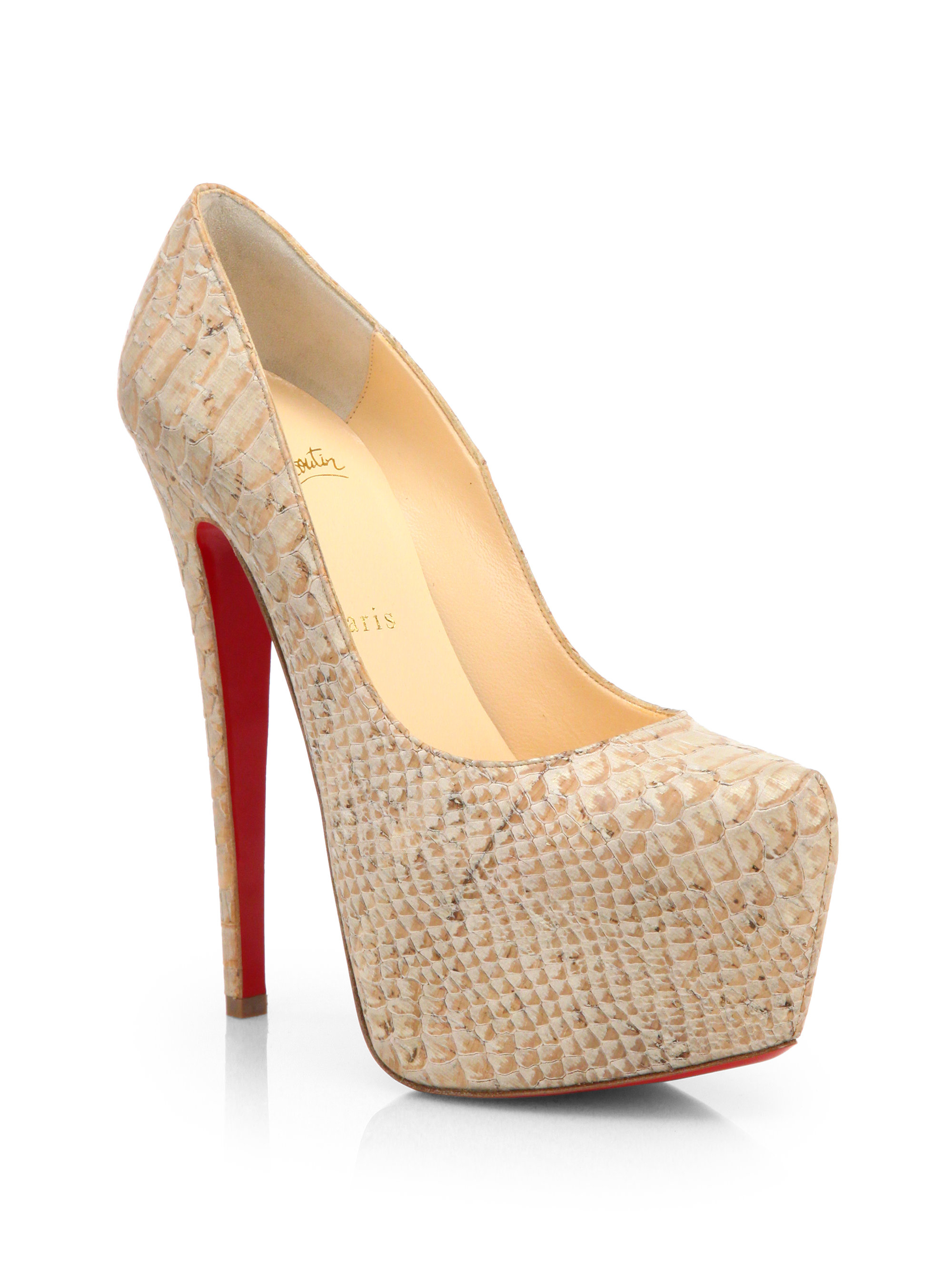Gallery. Previously sold at: Saks Fifth Avenue � Women\u0027s Christian  Louboutin Daffodile