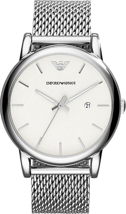 313a4a7391f Emporio Armani Ar1812 Luigi Stainless Steel Chronograph Watch ...