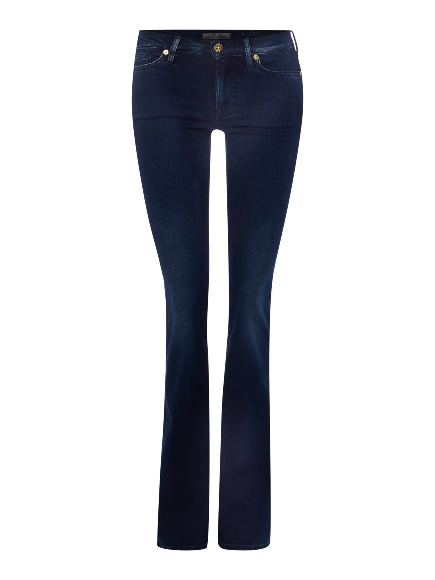 7 for all mankind slim illusion skinny bootcut jean in. Black Bedroom Furniture Sets. Home Design Ideas