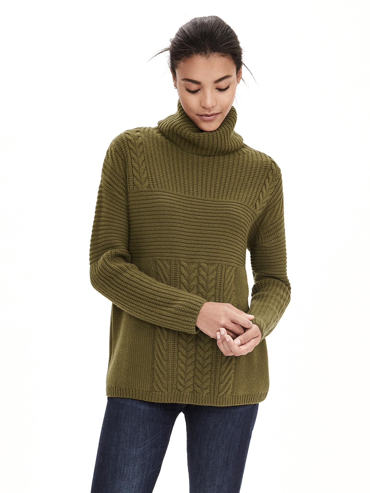 aa939c884a Banana amp; In Todd Republic Lyst Cashmere Green Duncan Turtleneck OFRTzxdn