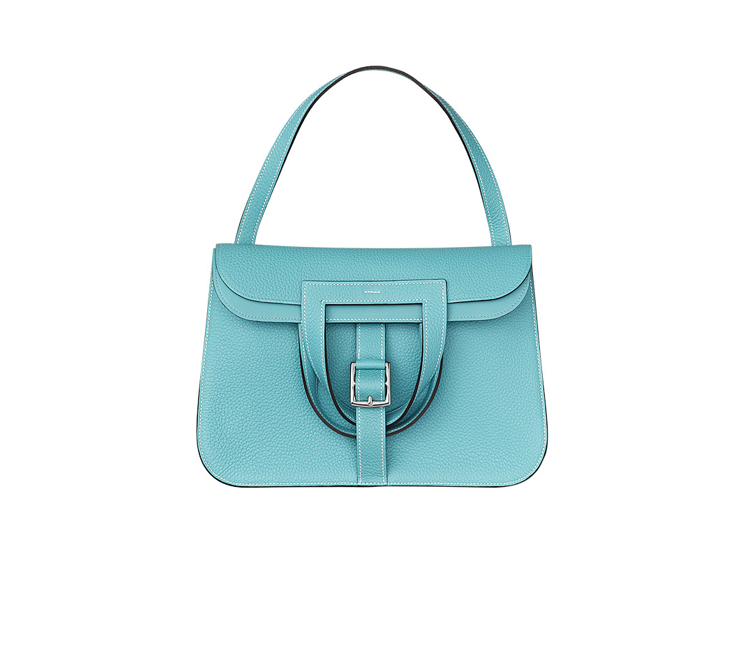 hermes Evelyne medium Saint Cyr blue