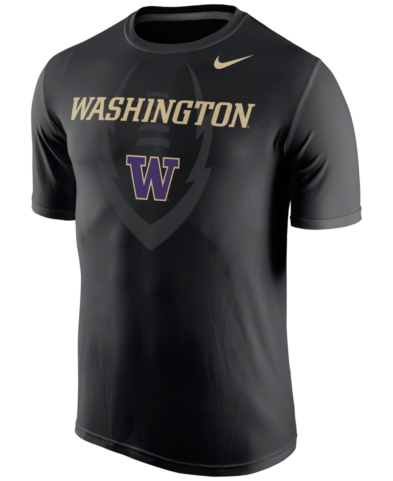 Nike Men 39 S Washington Huskies Legend Icon T Shirt In Black