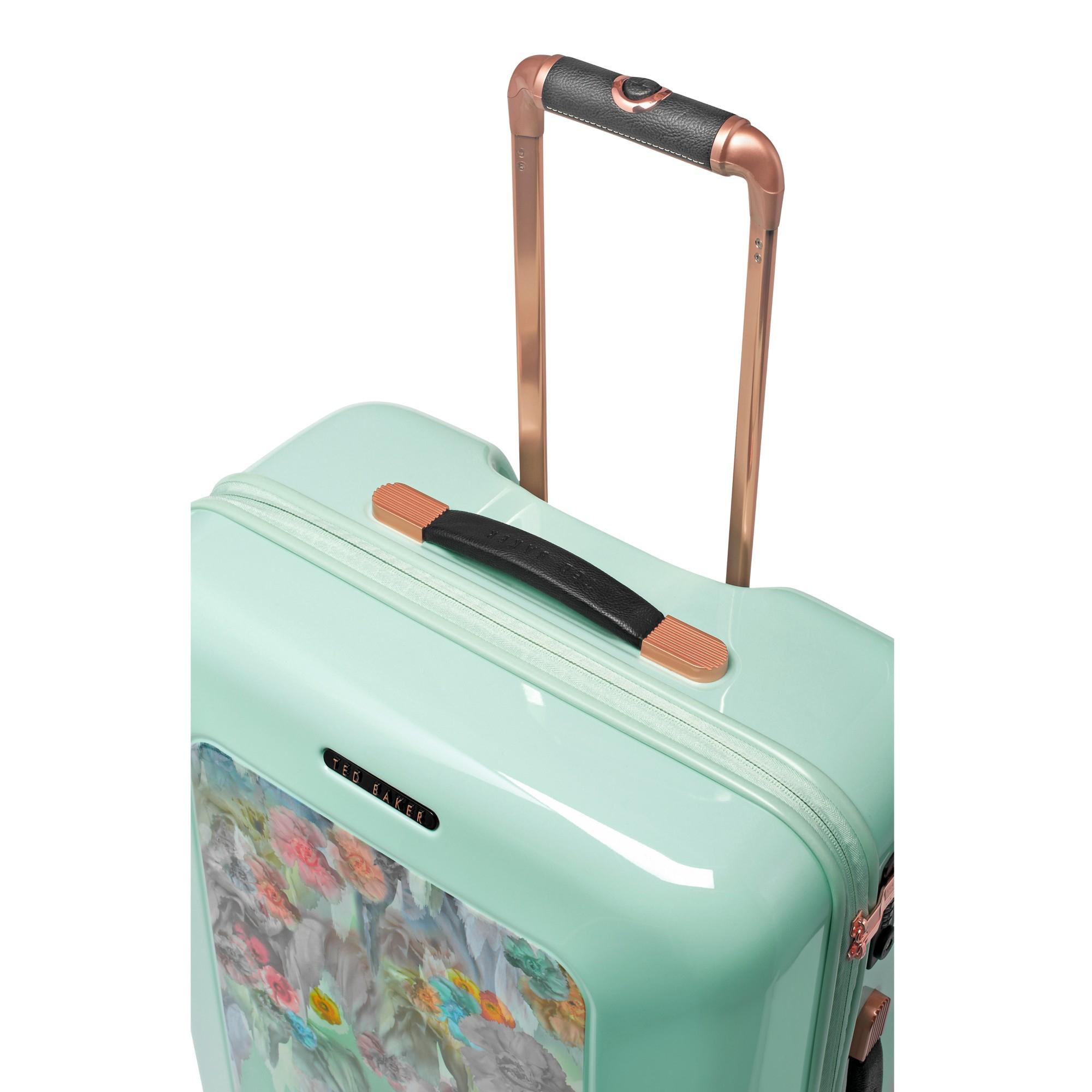 4c835aac0c744 Ted Baker Sugar Sweet 4-Wheel 69.5Cm Medium Suitcase in Green - Lyst