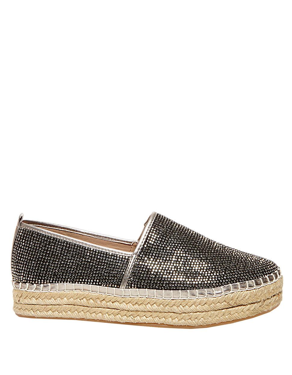 1e00242bb3ff Steve Madden Chopur-r Rhinestone Embelllished Slip-on Sneakers in ...