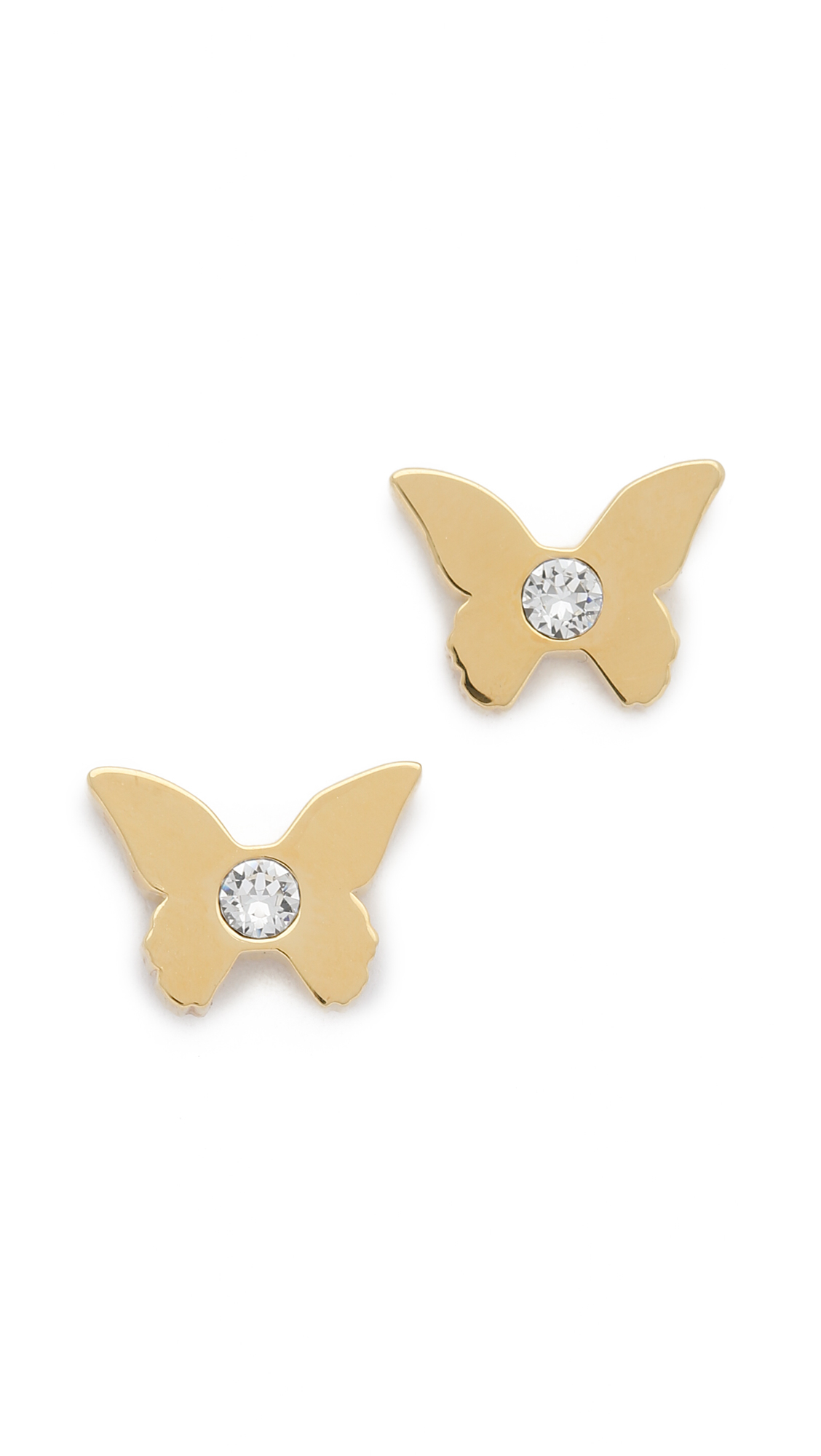 white backs com replacement earring butterfly products jewelryland gold stud