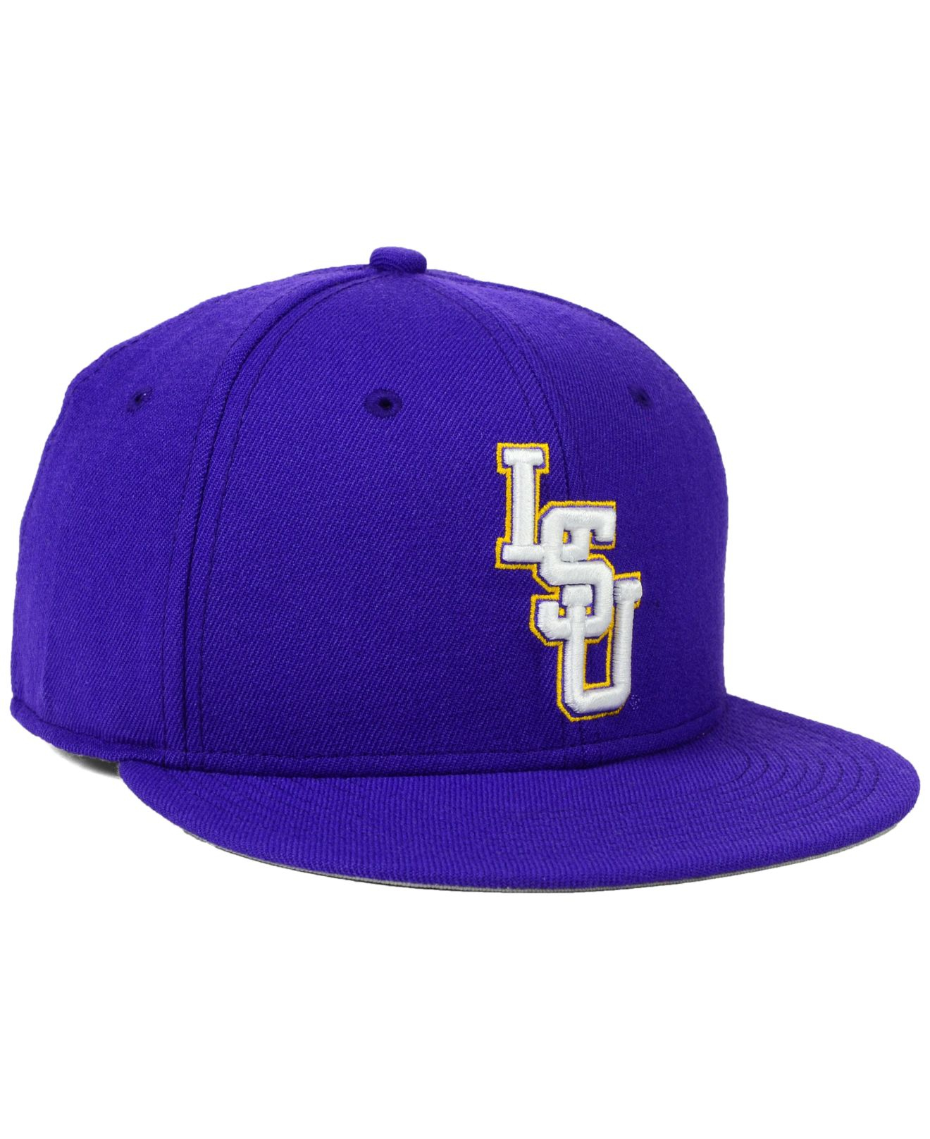 3b86d3c1dc6 Lyst - Nike Lsu Tigers True College Fitted Cap in Purple for Men