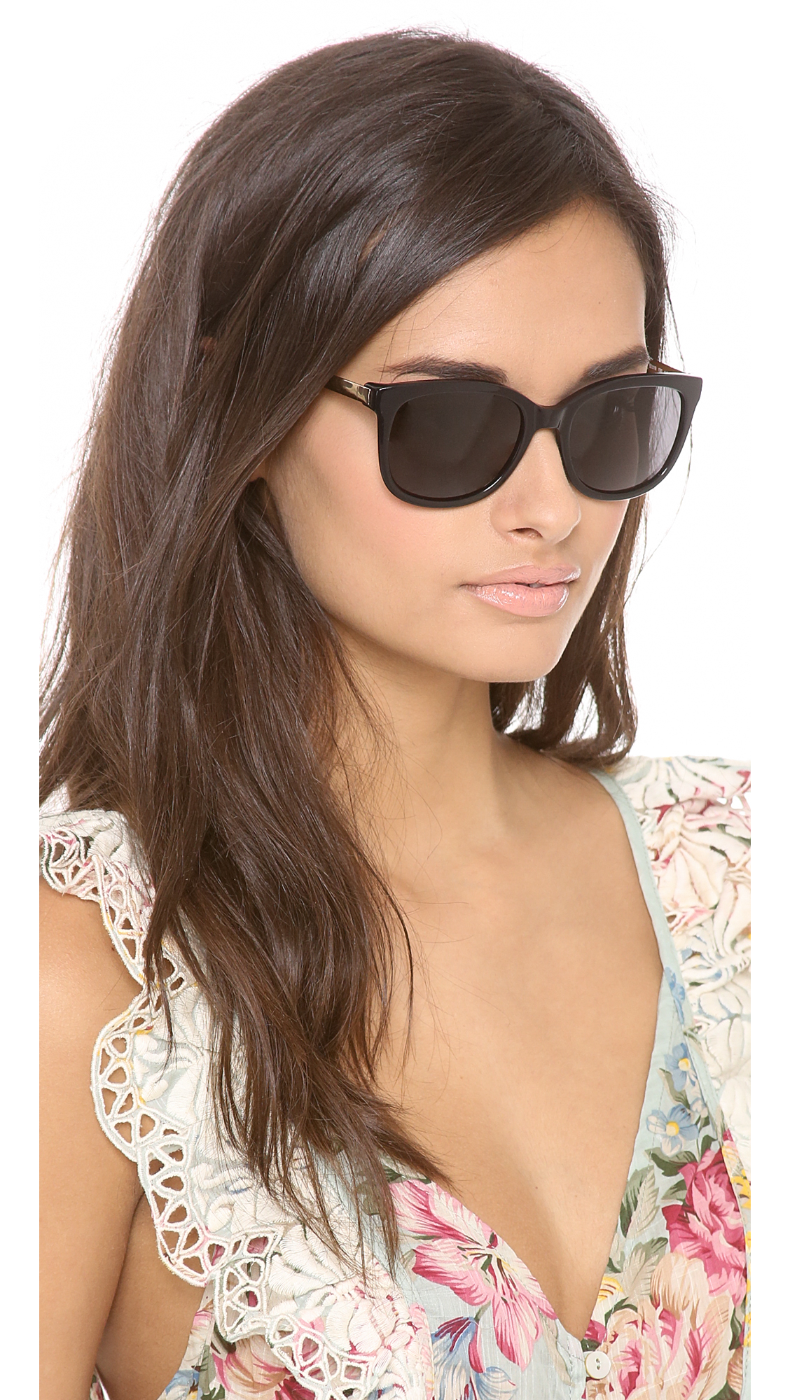 a9369b4dba Gallery. Previously sold at  Shopbop · Women s Oversized Square Sunglasses  ...
