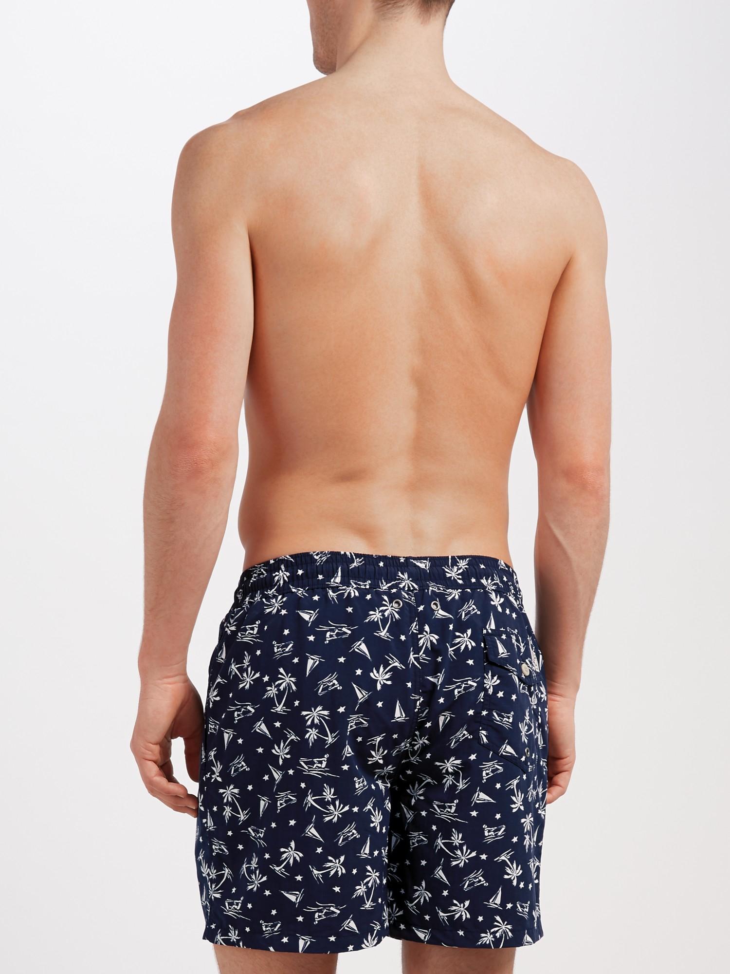 e47195e9d1 Polo Ralph Lauren Traveller Swim Shorts in Blue for Men - Lyst