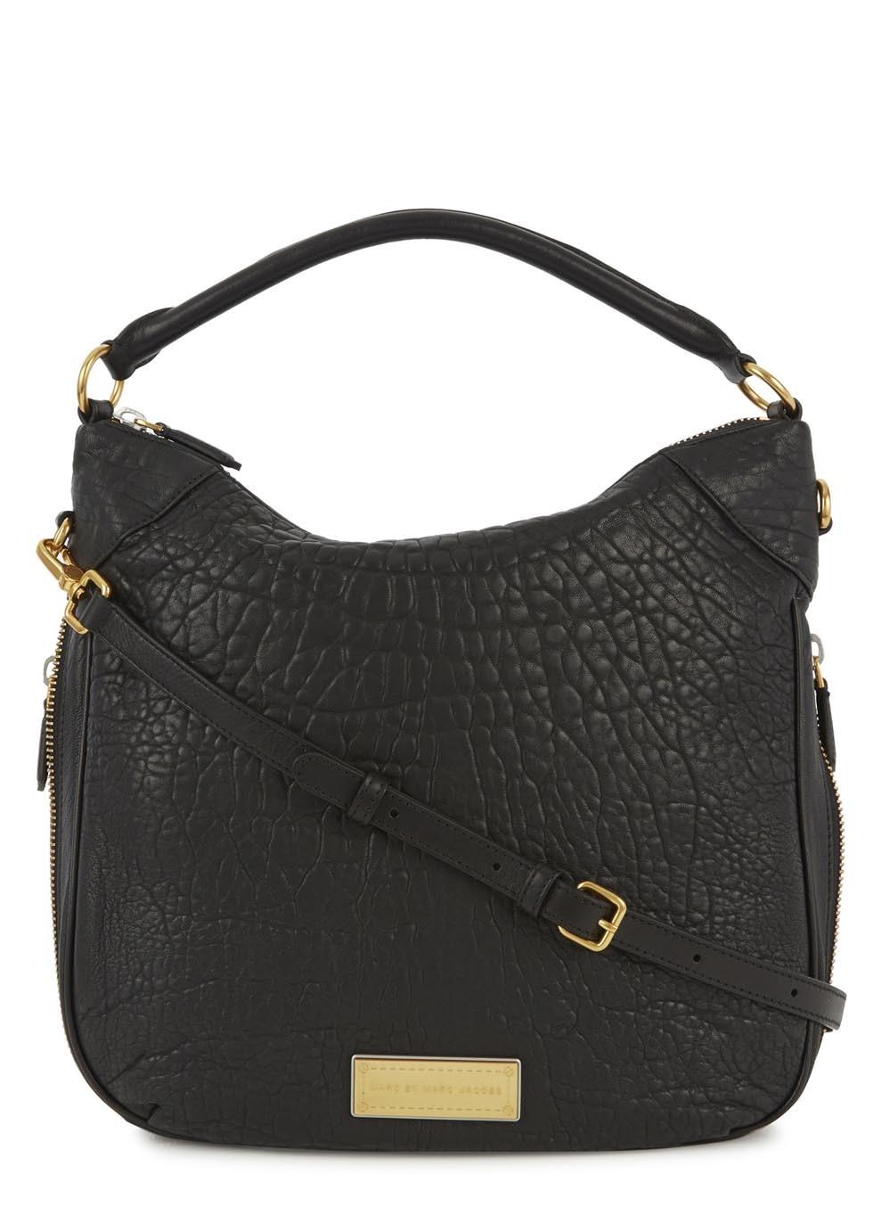 299840120cf Marc Jacobs Hobo Bag Black Leather | Stanford Center for Opportunity ...