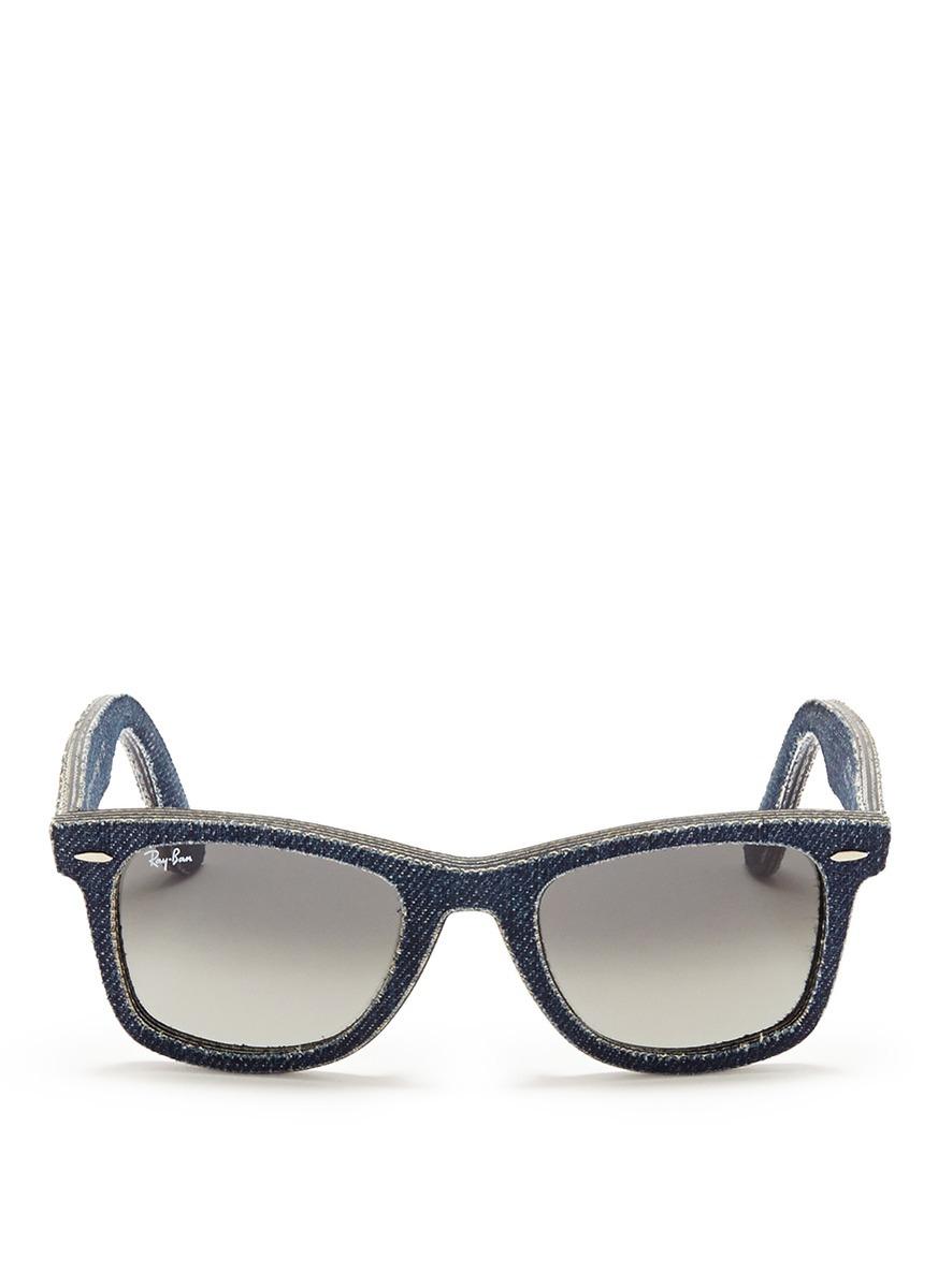 Ray Ban Wayfarer Blue Frame Sunglasses Www Tapdance Org