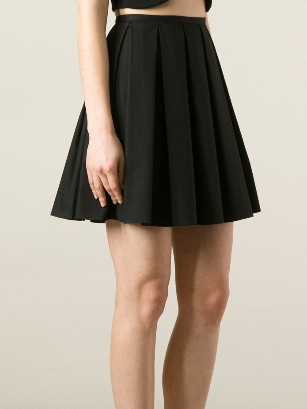 Shop black pleated skirt at Neiman Marcus, where you will find free shipping on the latest in fashion from top designers.