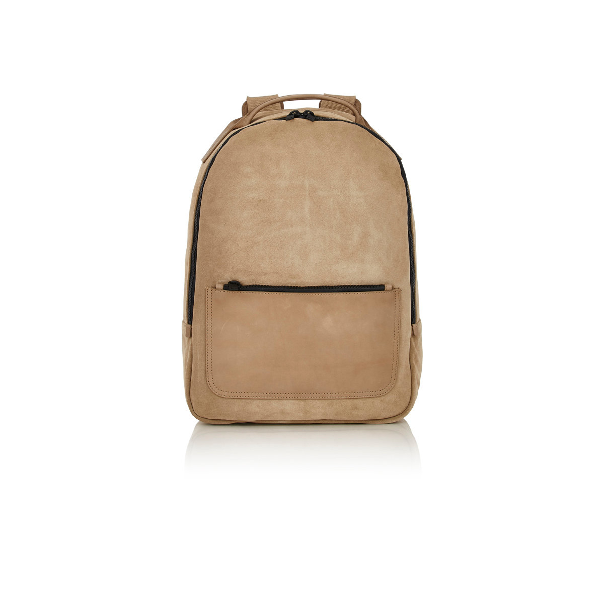 26f7c58f93b2 Lyst - Yeezy Zip-Around Suede Backpack in Natural for Men