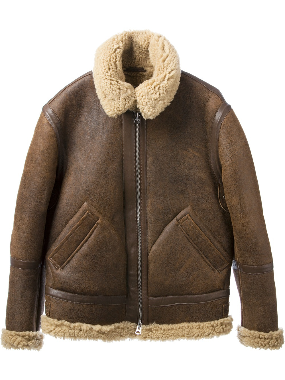 Lyst - Acne studios 'Ian Shearling' Jacket in Brown for Men