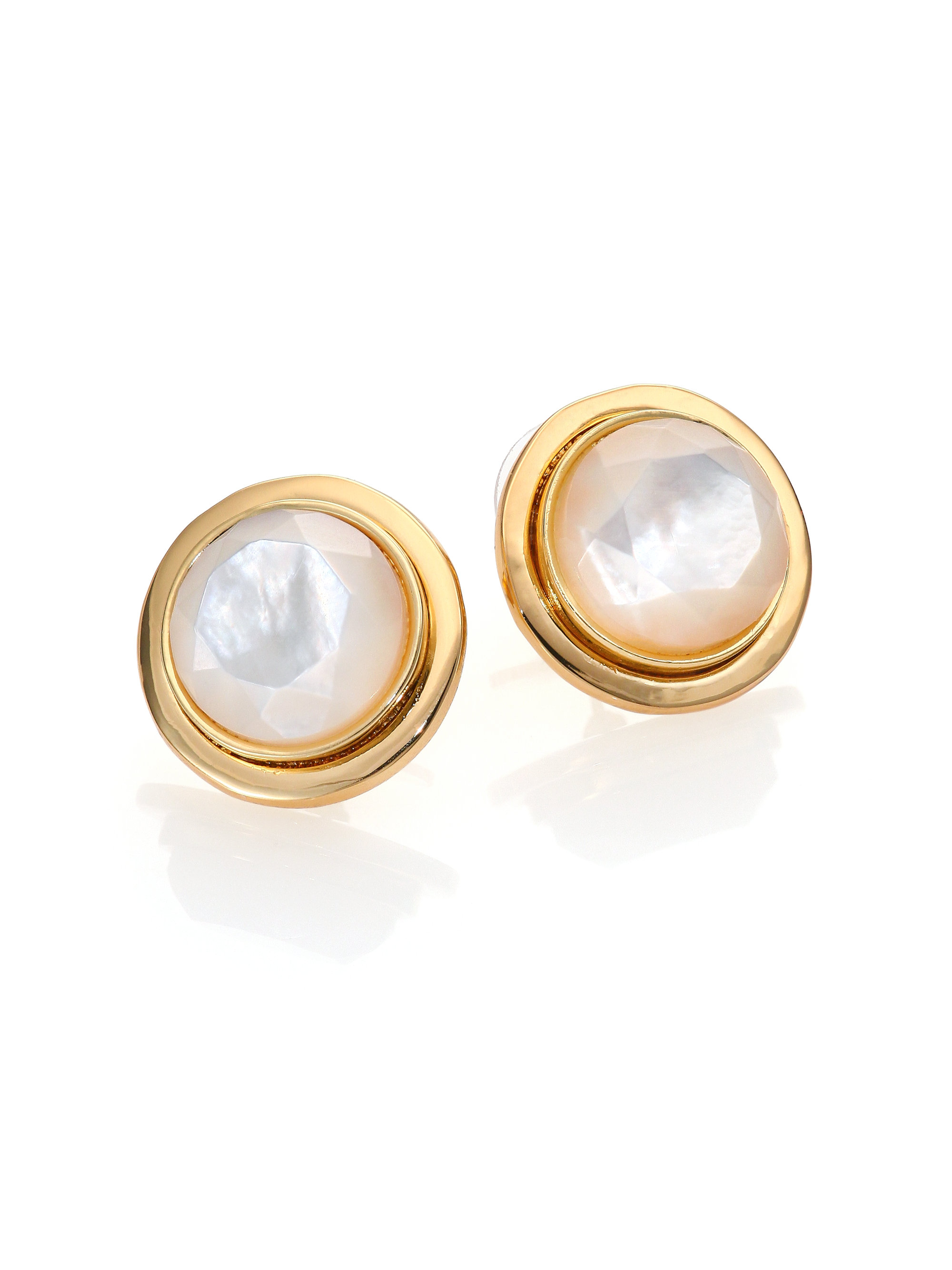 pearl s earrings stud faux claire graduated pastel