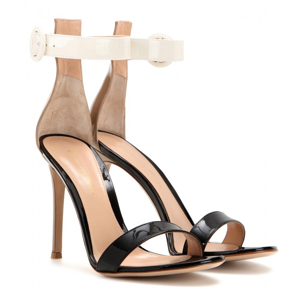 Gianvito Rossi Portofino 105 sandals clearance for sale cheap price pre order tumblr sale online C5DVGztGeu