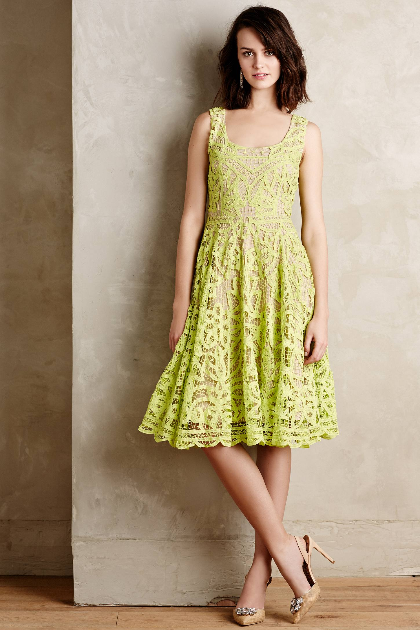 Korovilas Primevere Dress In Green Lyst