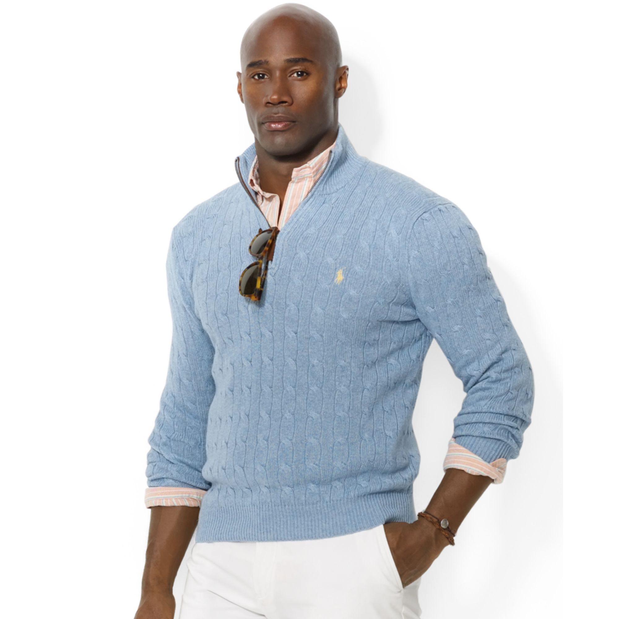 Ralph Lauren Mock Neck Sweater