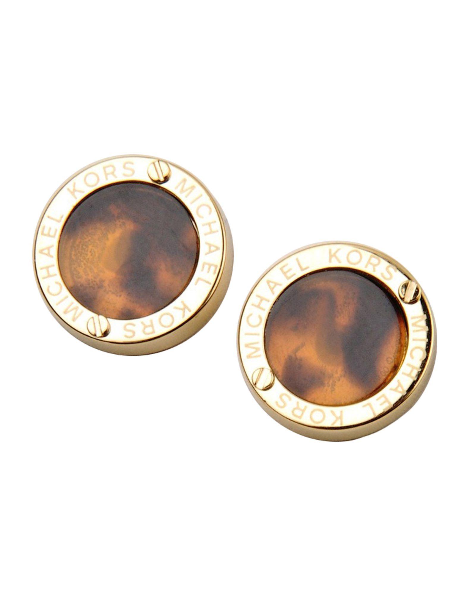 832f94c4ddab Lyst Michael Kors Earrings In Metallic