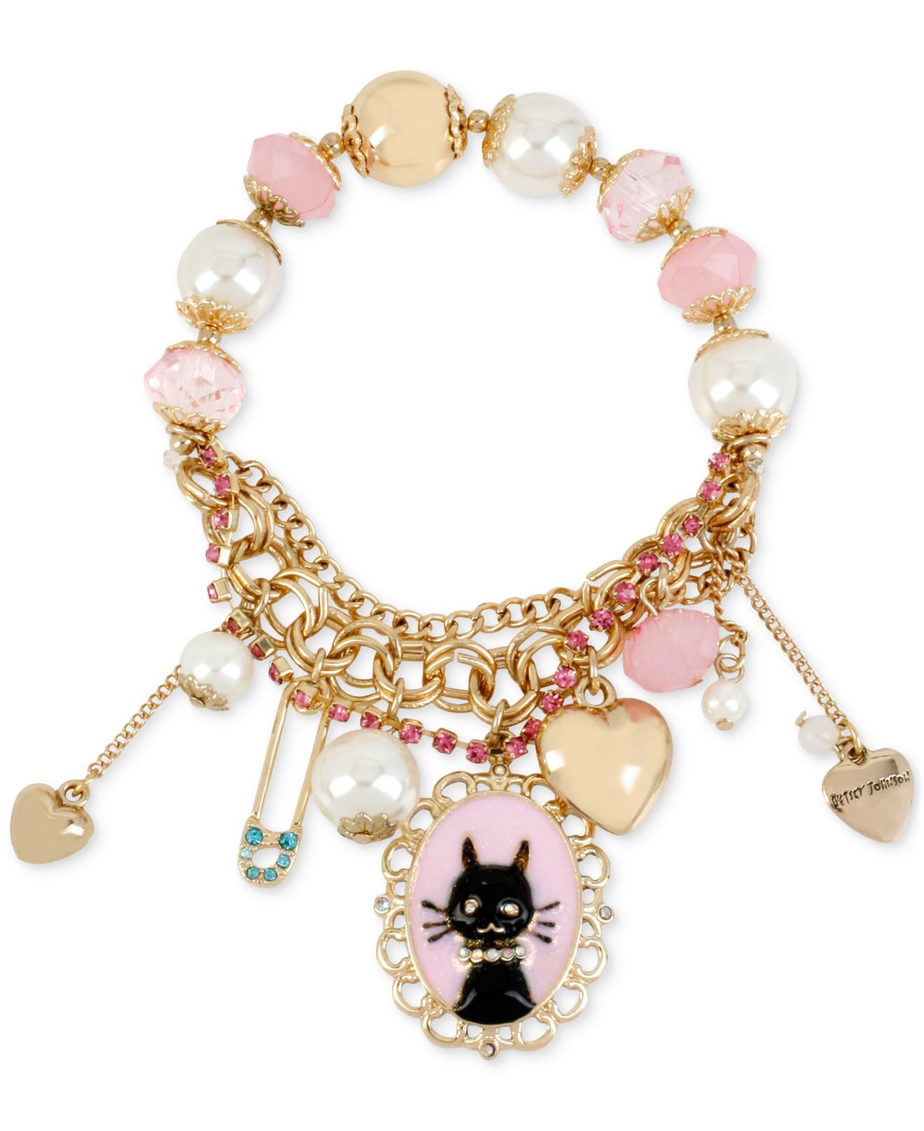 Betsey Johnson Charm Bracelet - Best Bracelet 2018