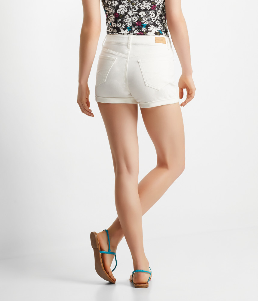 High Waisted Midi Shorts - The Else