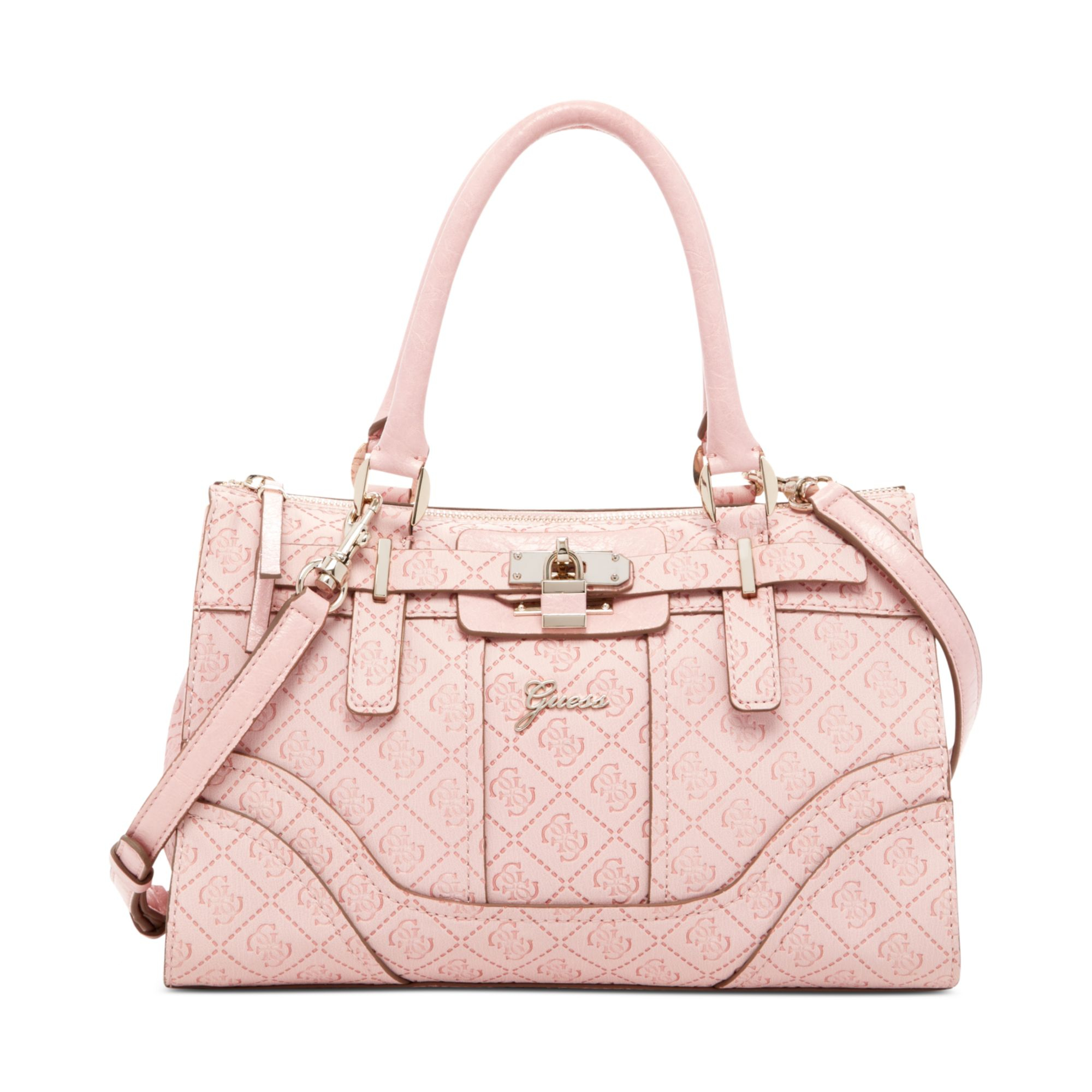 Pink Guess Purses Handbags Best Purse Image Ccdbb