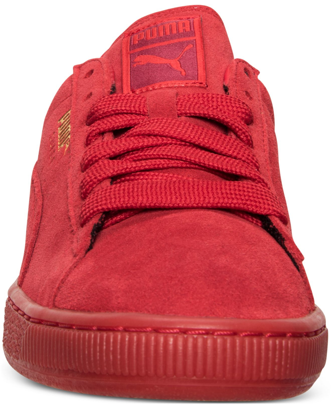 Lyst - PUMA Men s Suede Classic Iced Mono Casual Sneakers From ... 8e1dd0f2d