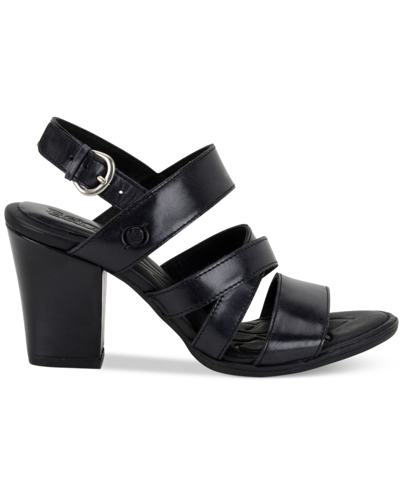093ee1d51f19 Lyst - Born Marylu Dress Sandals in Black