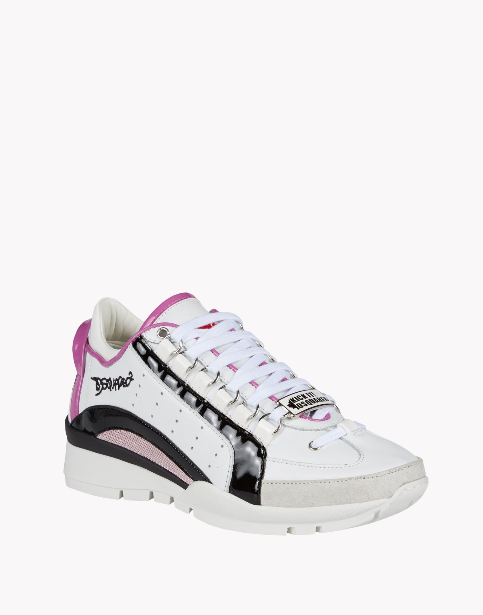 Lyst Dsquared 178 551 Sneakers In White
