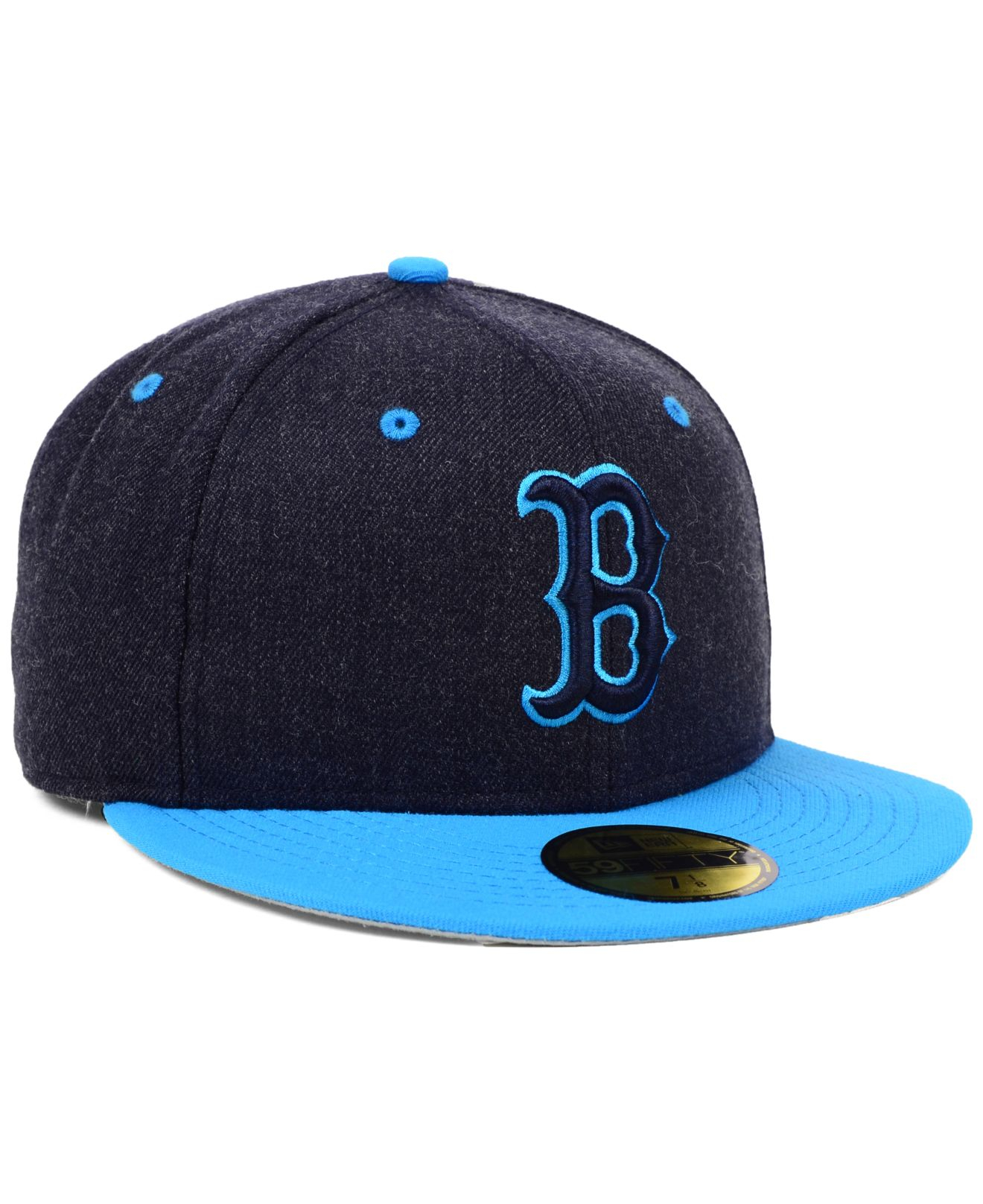 brand new 8c01c 49300 Lyst - KTZ Boston Red Sox Mlb Navy Heather 59Fifty Cap in Blue for Men