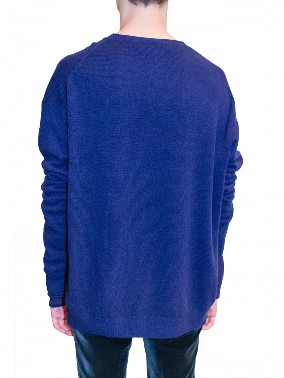 haider ackermann invidia night sweater in blue for men lyst. Black Bedroom Furniture Sets. Home Design Ideas