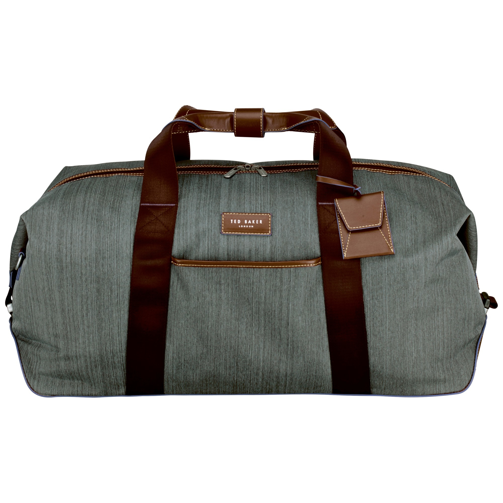 7447aaf043d7c3 Ted Baker Medium Clipper Holdall in Gray for Men - Lyst