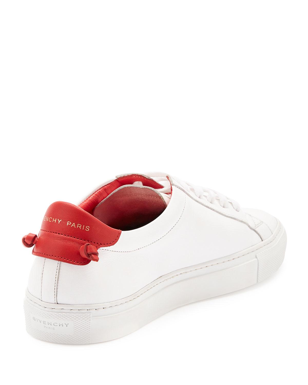 Givenchy Logo Baskets Bas-top - Blanc cSaIzuSRZg