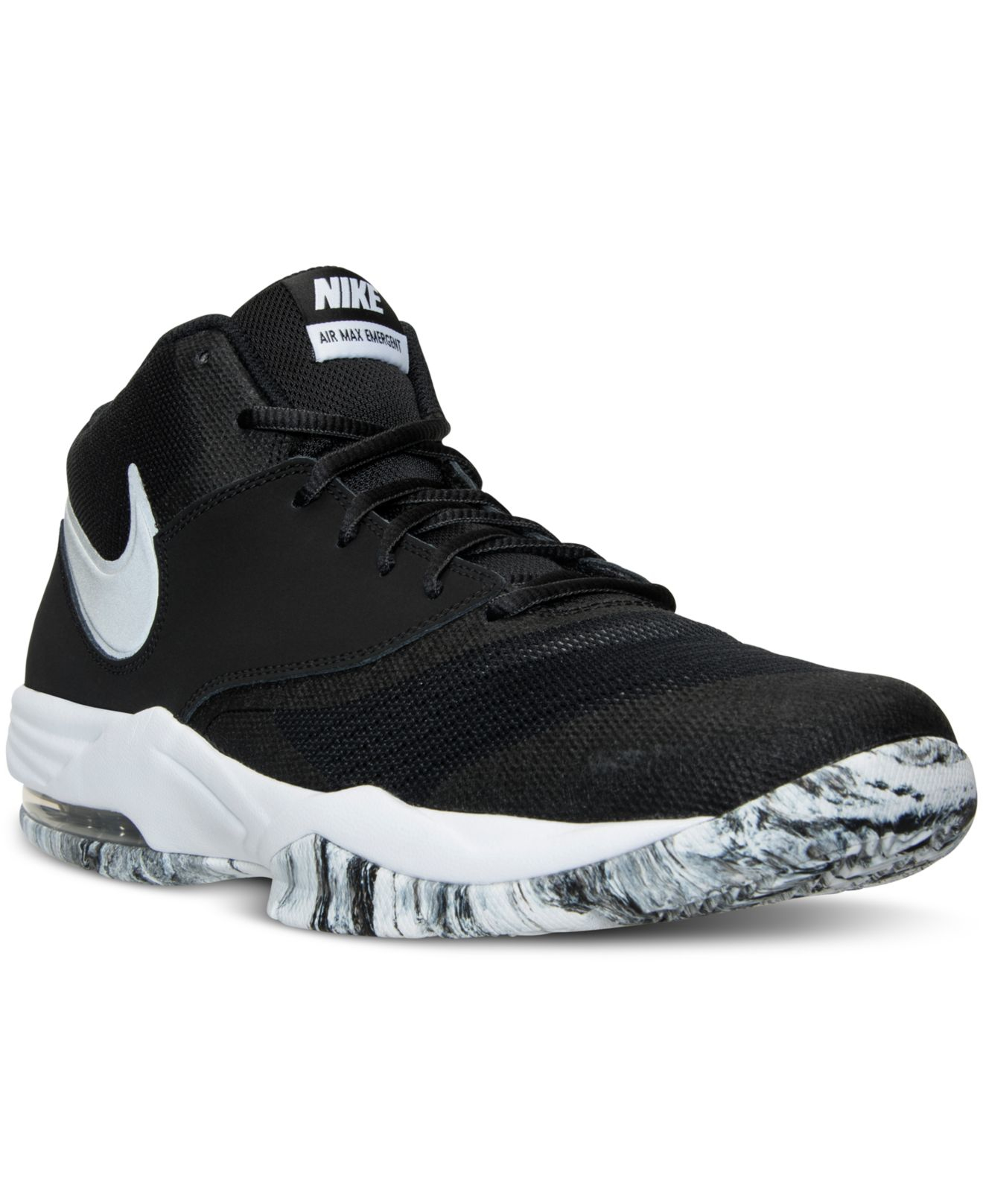 Nike Men's Air Max Emergent Basketball Sneakers From ...