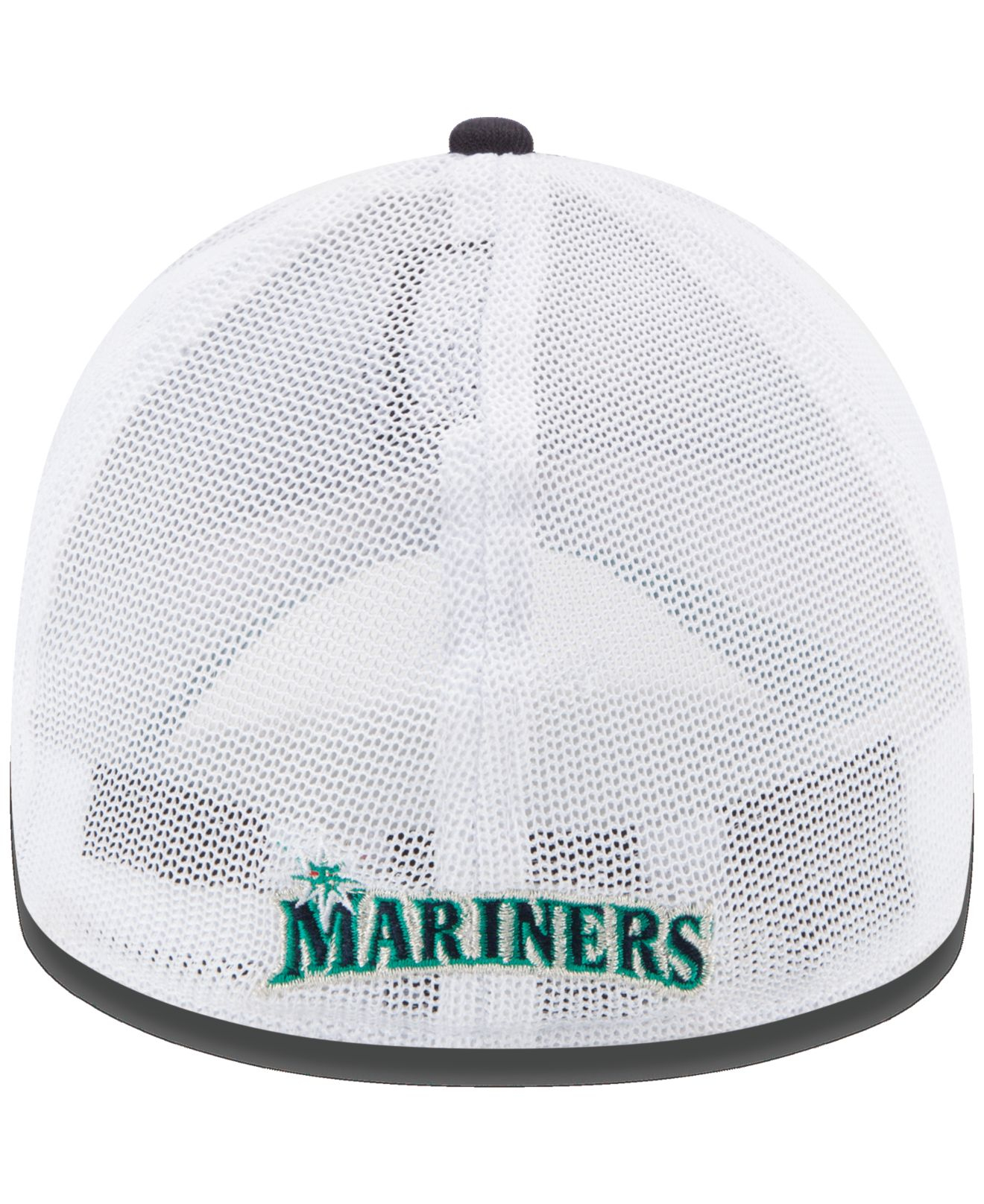 best service 932cb db487 ... reduced lyst ktz seattle mariners double mesh 39thirty cap in blue for  men f9f06 9a250