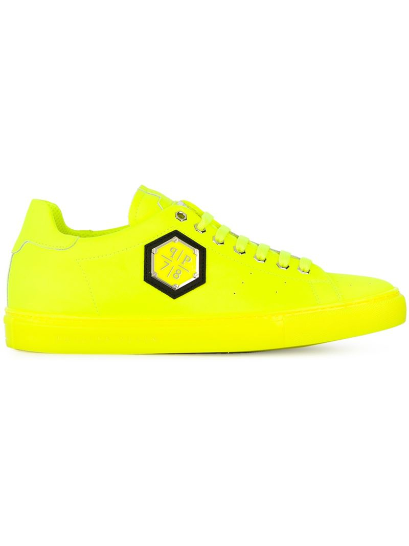 yellow sneakers Philipp Plein q8s9Te