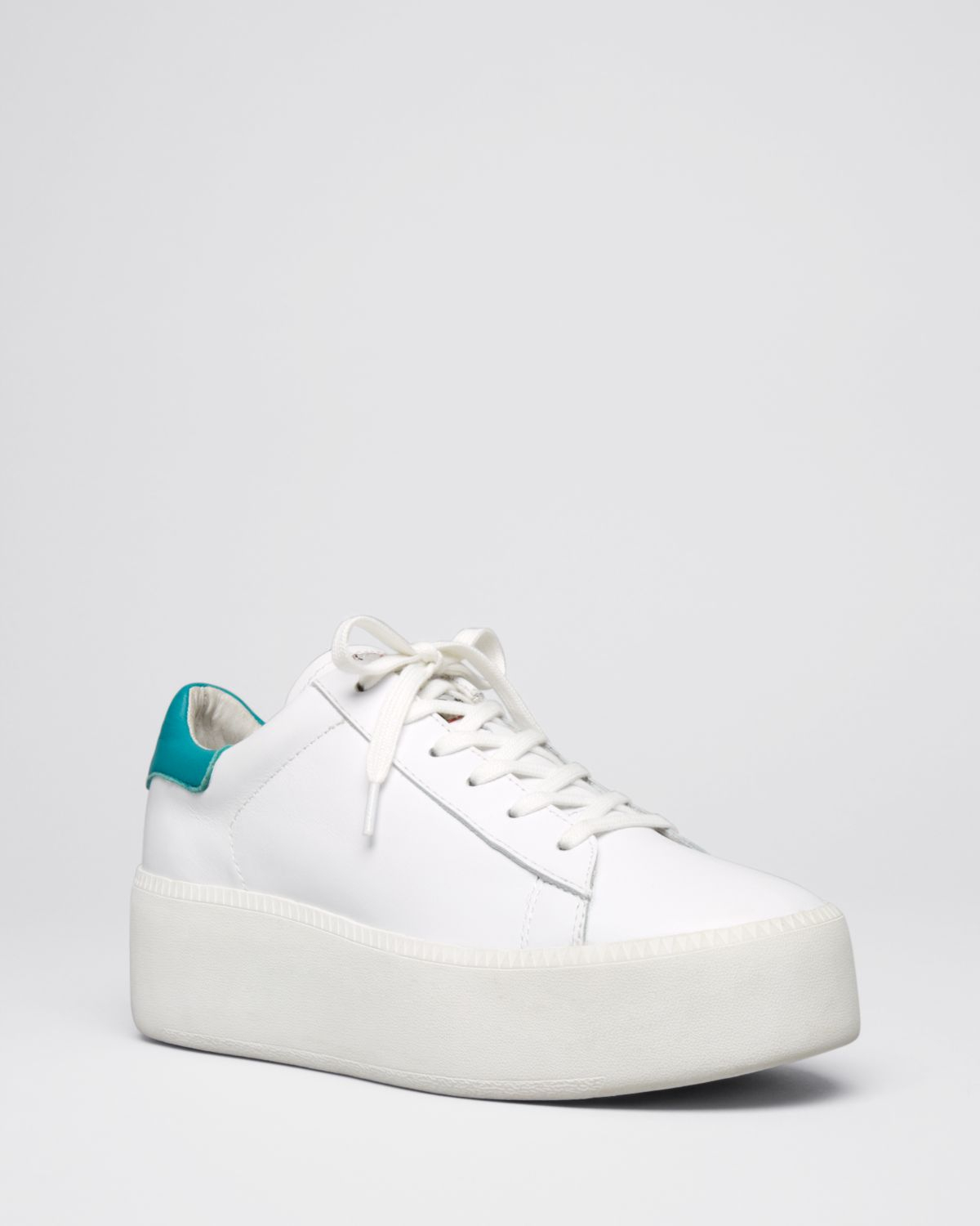 Ash Platform Lace Up Sneakers - Cult in White | Lyst