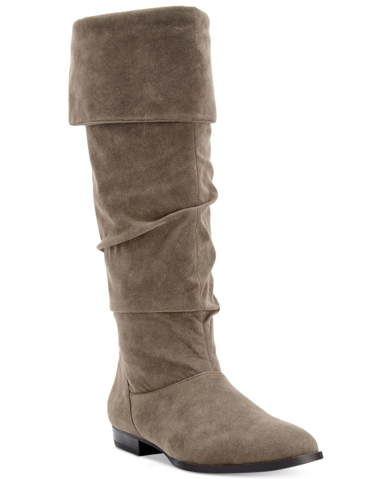 59d81e48956 Lyst - Style   Co. Style co. Tiriza Slouchy Boots