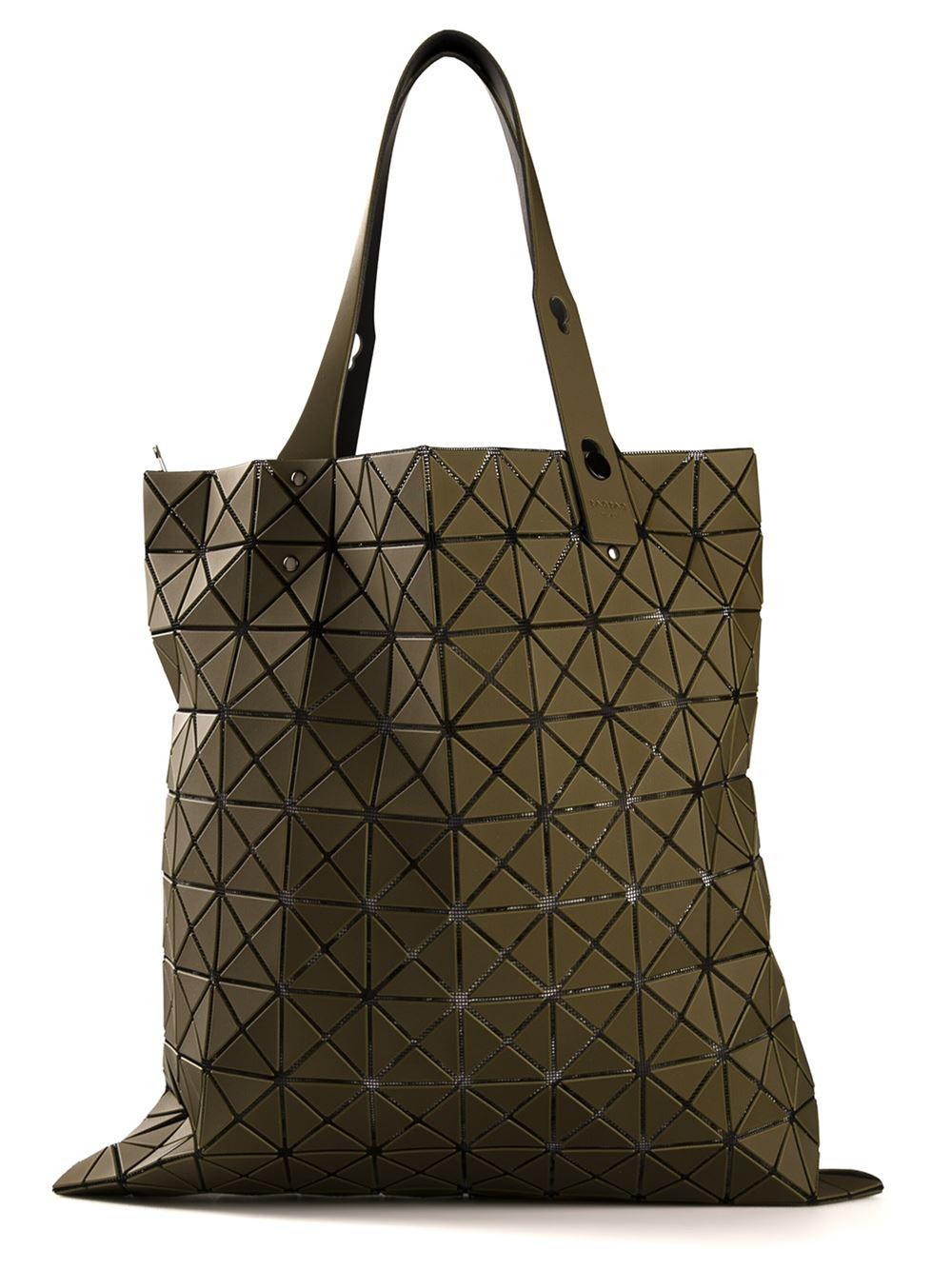 Bao Bao Issey Miyake Geometric Tote Bag in Green Lyst a61194c835c