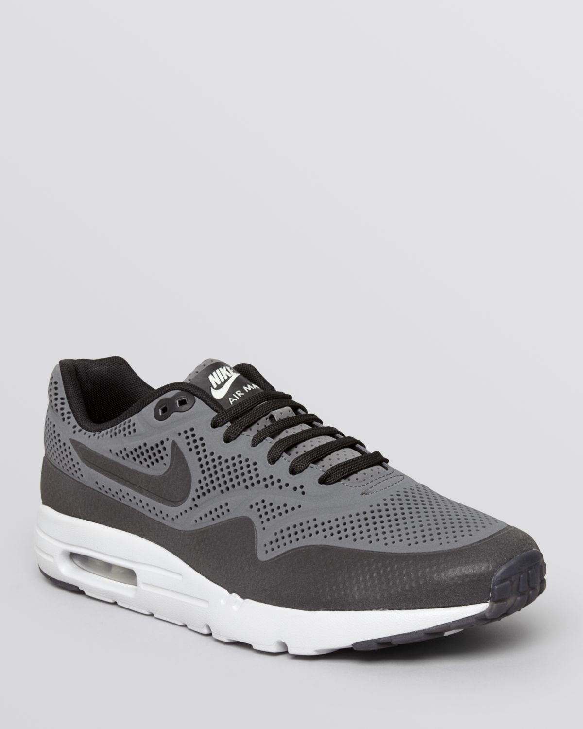 lyst nike air max 1 ultra moire sneakers in gray for men. Black Bedroom Furniture Sets. Home Design Ideas