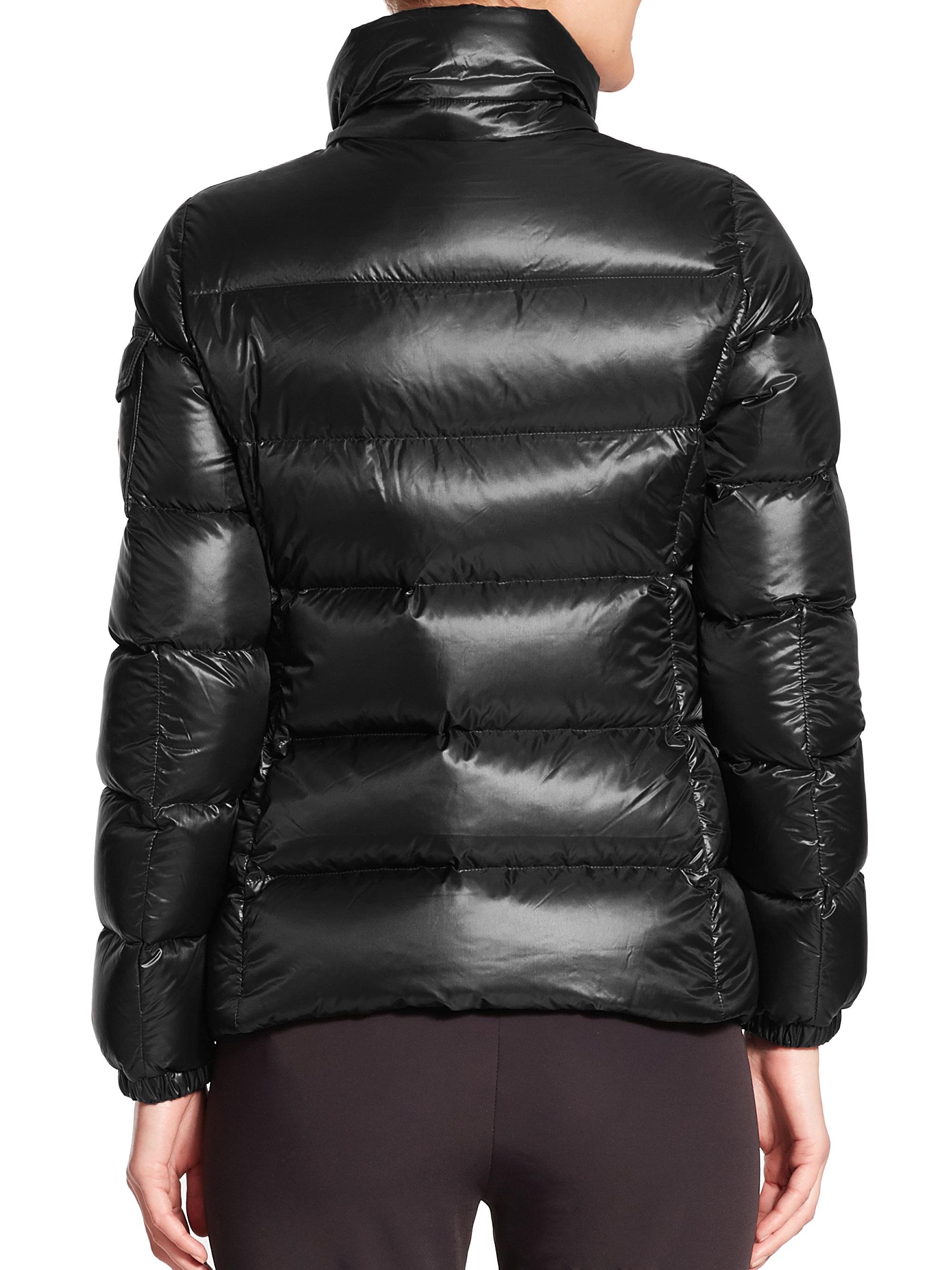moncler berre jacket black