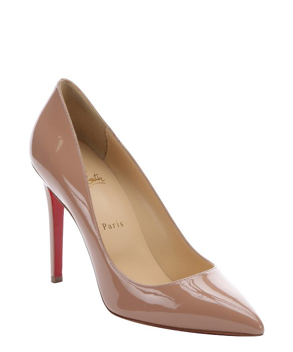 christian louboutin pigalle 100 beige