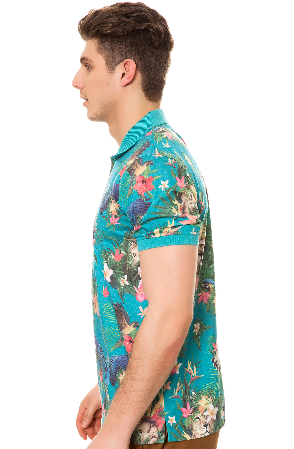 1663803995cf76 Lyst - LRG The Hawaiian Safari Ss Polo for Men