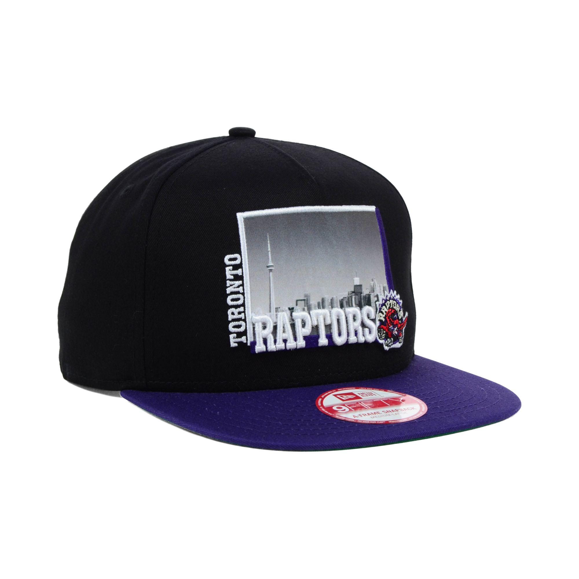 new product 08500 ddb0d Lyst - KTZ Toronto Raptors Nba Hardwood Classics 9fifty Snapback Cap ...