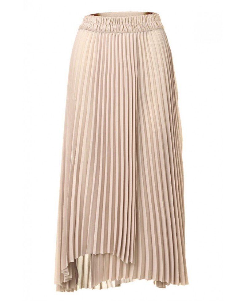 5aa0e51272 By Malene Birger Wikkus Skirt in Natural - Lyst