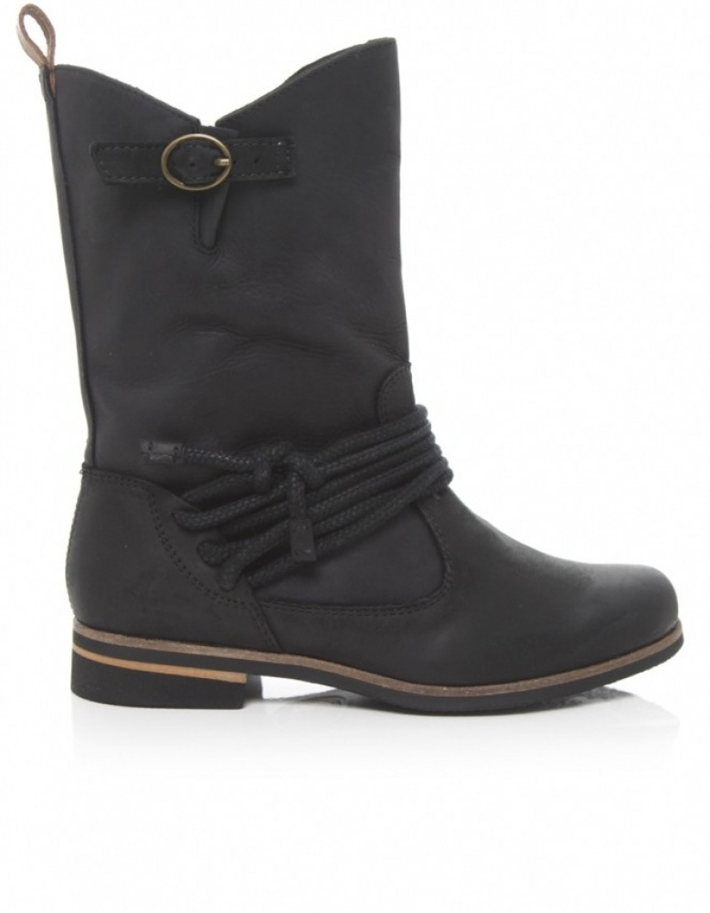 J Shoes Victoria Mid Calf Boots In Black | Lyst
