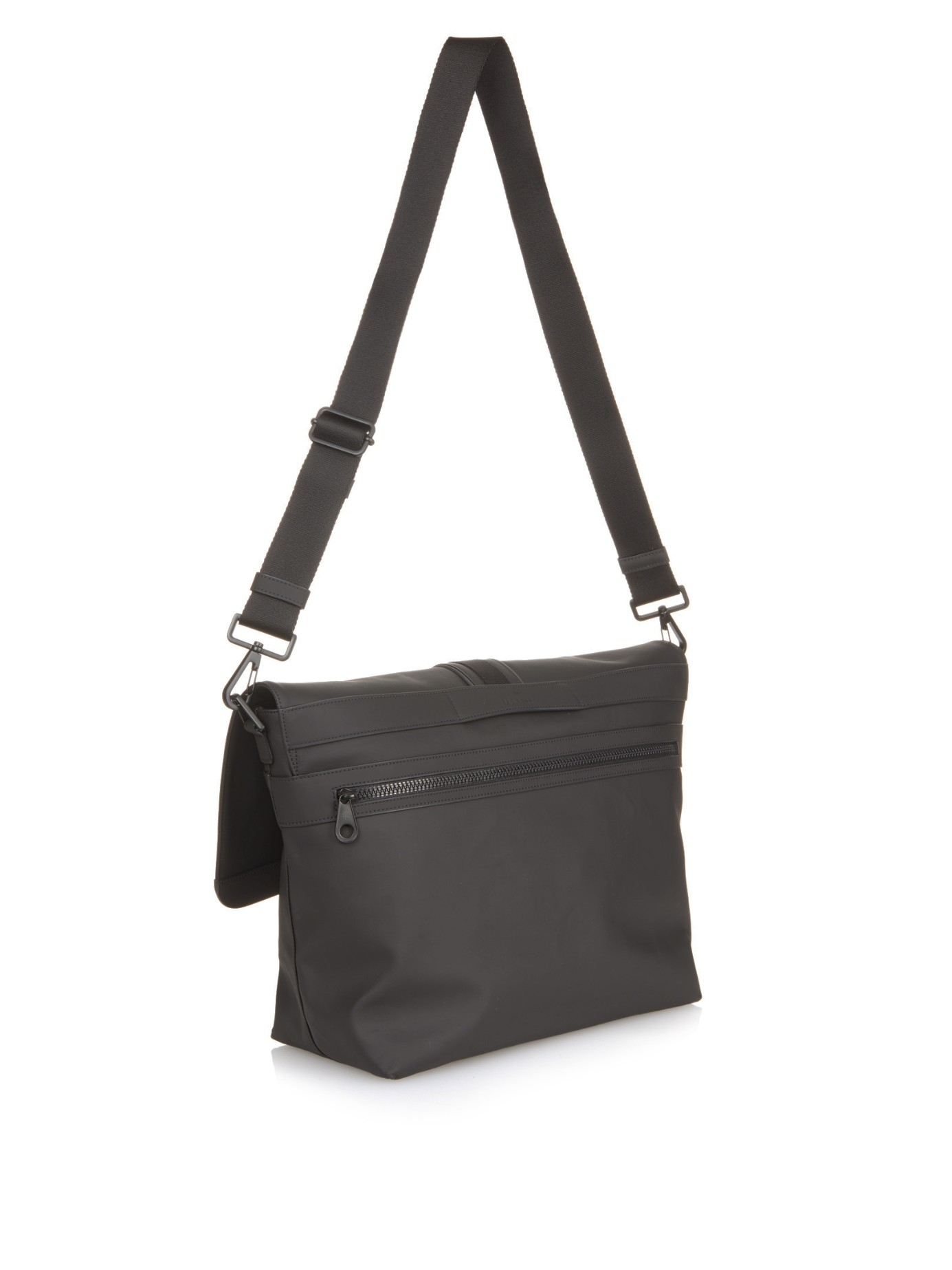 ... where to buy lyst mulberry fleet coated canvas messenger bag in gray  for men 18d5e 063a0 ... e63b8d6082c41