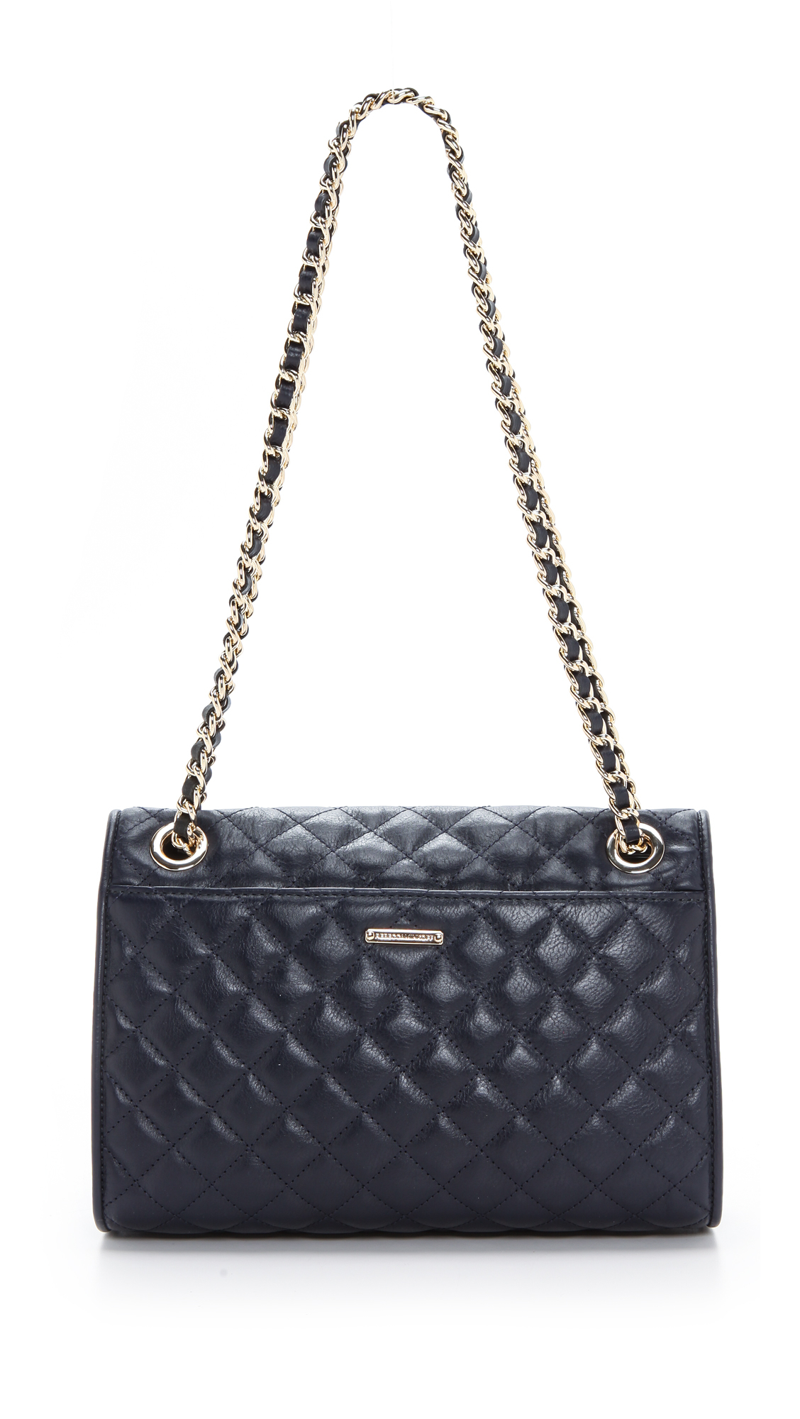 Rebecca Minkoff Quilted Affair Bag Ink In Blue Lyst